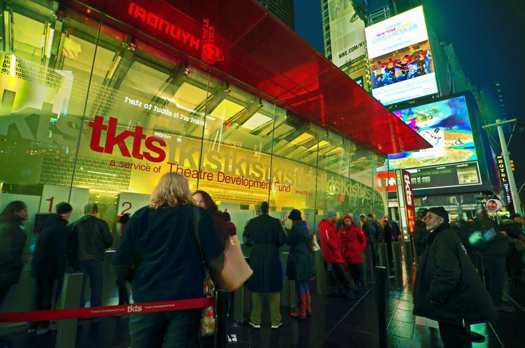 Los TKTS en Times Square, Nueva York