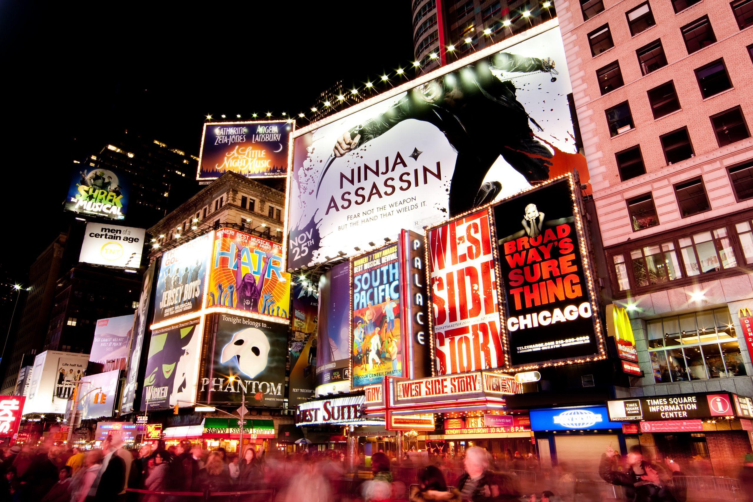 ¿Cómo comprar entradas para musicales de Broadway?