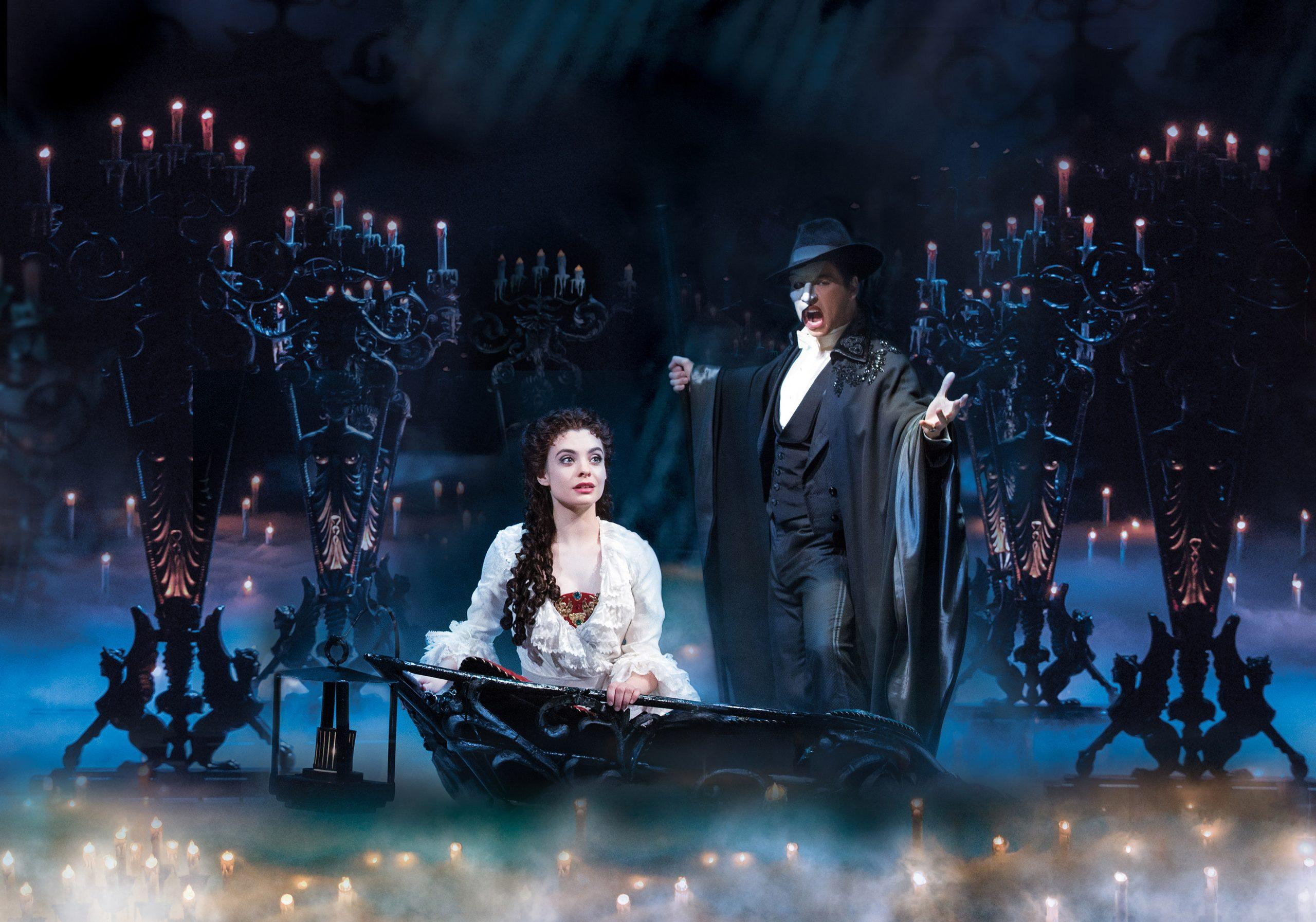 El Fantasma de la Ópera en Broadway, Nueva York