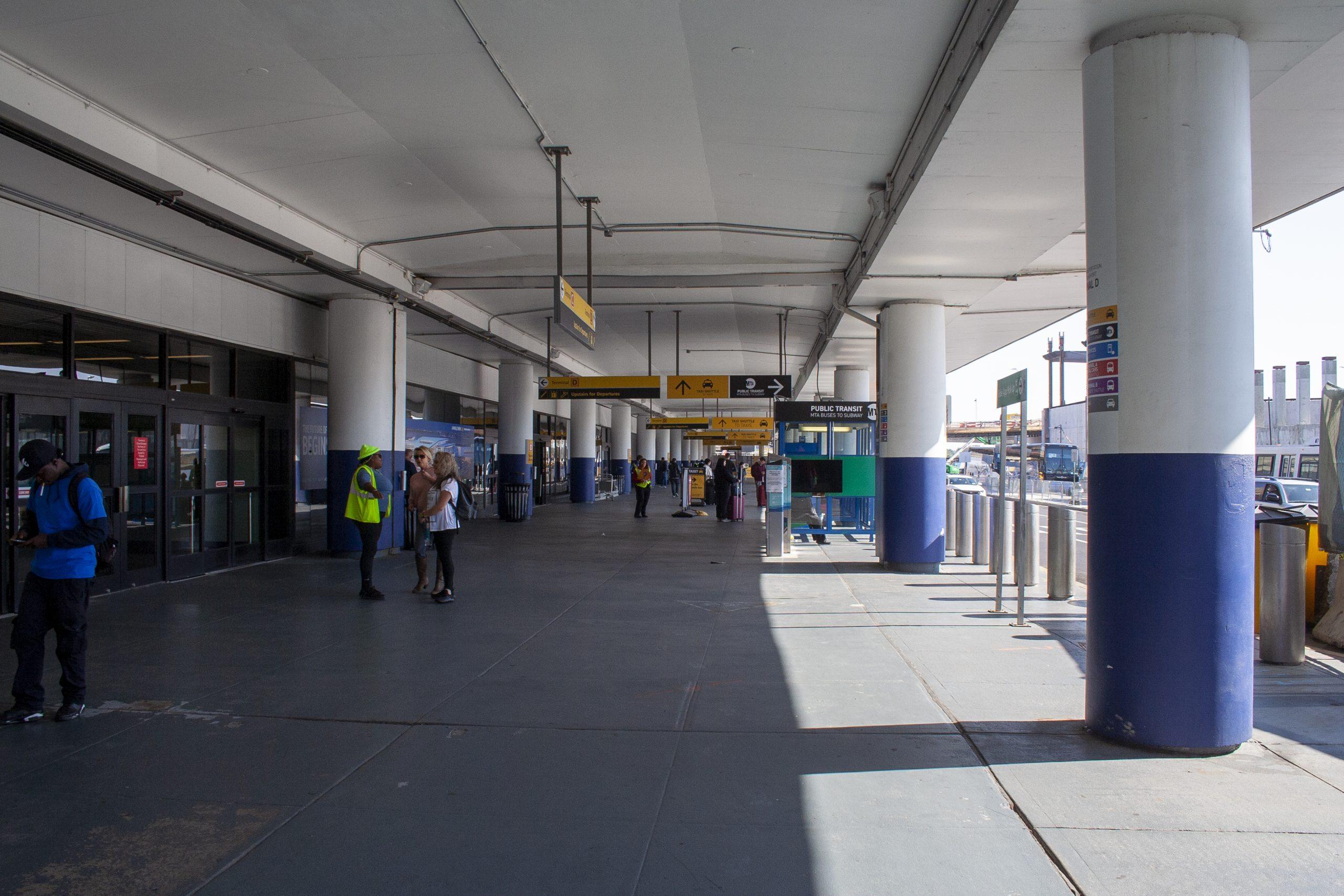 Salida del Aeropuerto de LaGuardia, Nueva York