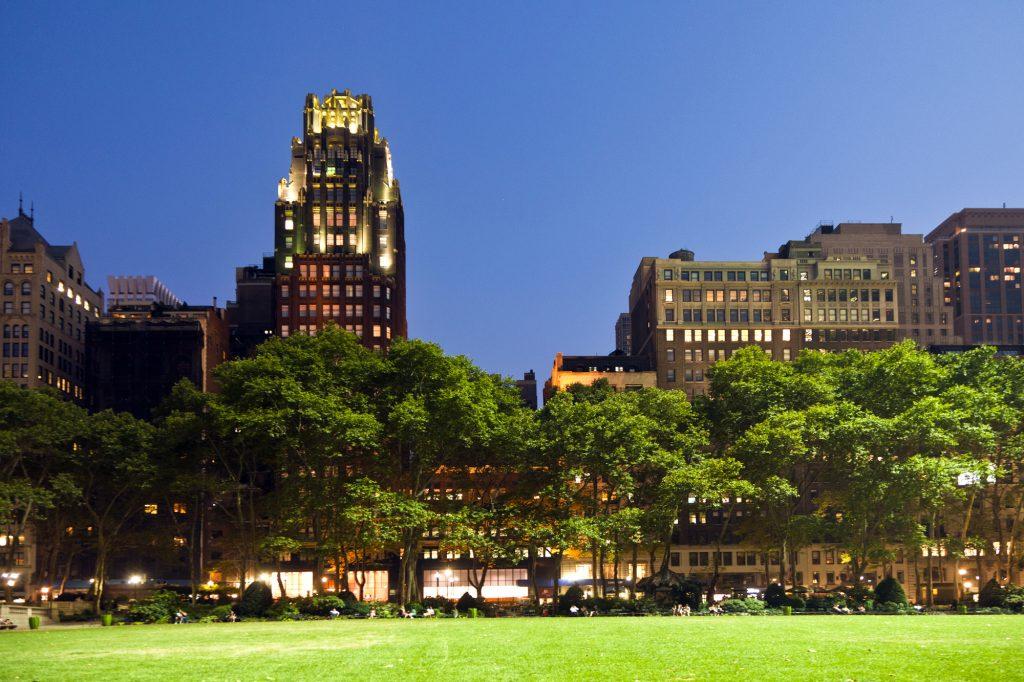 El Bryant Park de Nueva York es un auténtico oasis en la Gran Manzana