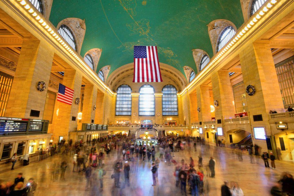 La Grand Central Terminal de Nueva York es una de las estaciones más transitadas del país